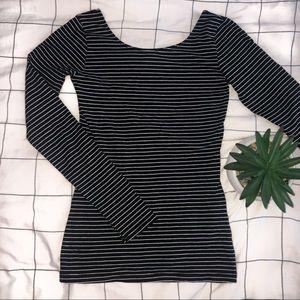 🌿3/$20 • GARAGE • Striped Long Sleeve